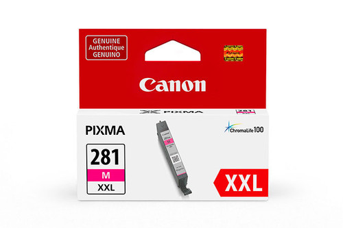1981C001   Canon CLI-281XXL   Original Canon Super High Yield Ink Cartridge - Magenta
