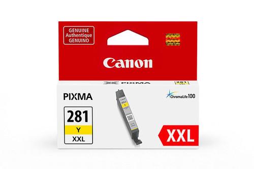 1982C001   Canon CLI-281XXL   Original Canon Super High Yield Ink Cartridge - Yellow
