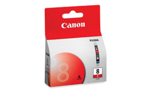 Original Canon 0626B002 CLI-8R ink cartridge Red