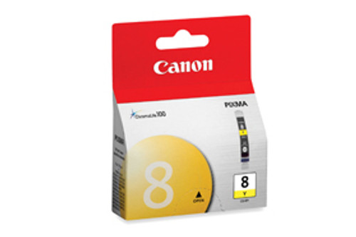 0623B002   Canon CLI-8   Original Canon Ink Cartridge - Yellow