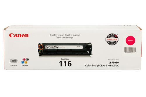 1978B001 | Canon 116 | Original Canon Toner Cartridge - Magenta