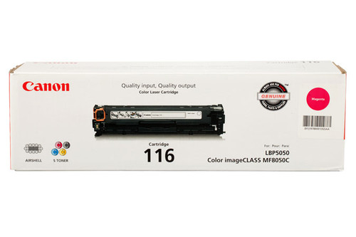 1978B001 | Canon 116 | Original Canon Laser Toner Cartridge - Magenta