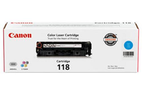 Original Canon 2661B001 Cartridge 118 Cyan