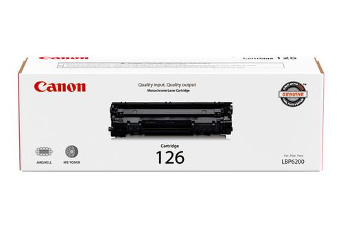 3483B001 | Canon 126 |Original Canon Toner Cartridge - Black