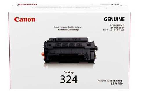 3481B003AA   Canon 324   Original Canon Laser Toner Cartridge - Black