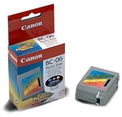 0886A003   Canon BC-06   Original Canon Ink Cartridge - Tri-Color