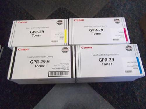 2643B004 | Canon GPR-29 | Original Canon Toner Cartridge - Cyan