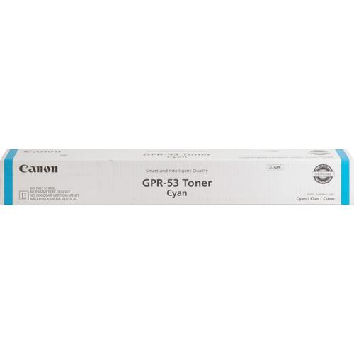 8525B003AA | Canon GPR-53 | Original Canon Toner Cartridge - Cyan