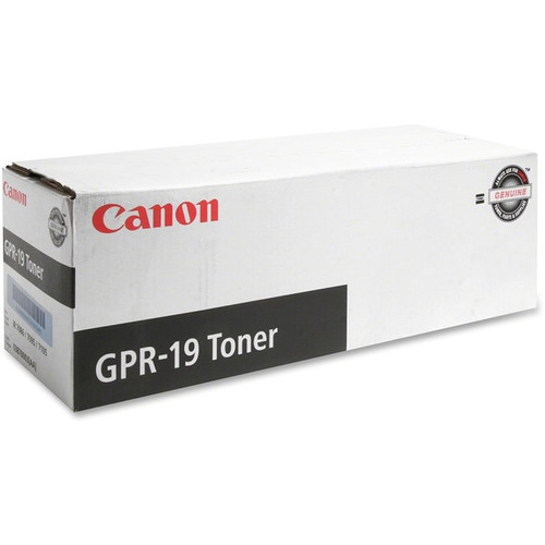 0387B003AA | Canon GPR19C | Original Canon  Toner Cartridge - Black