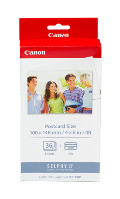 7737A001 | Original Canon Photo Paper & Ink Combo Pack - Tricolor