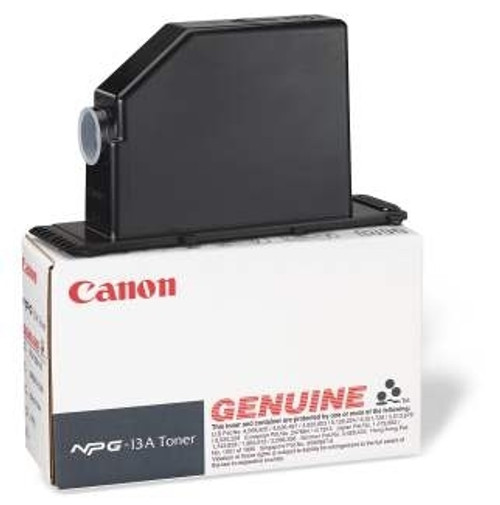 1384A011AA   Canon 13   Original Canon Toner Cartridge - Black