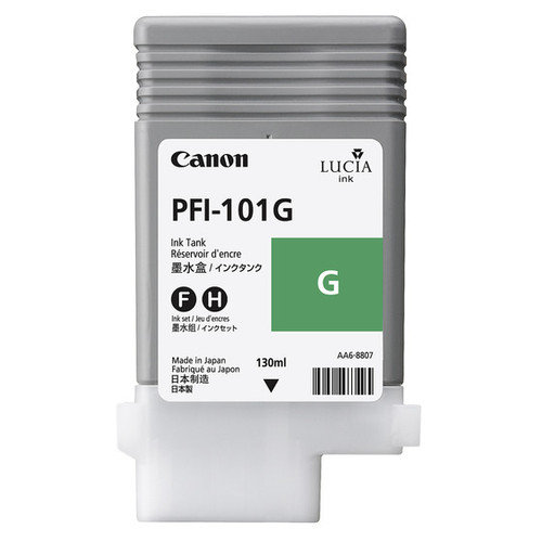0890B001   Canon PFI-101   Original Canon Ink Cartridge - Green