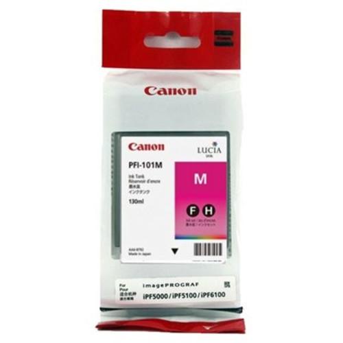 Original Canon 0885B001 PFI-101M ink cartridge Original Magenta