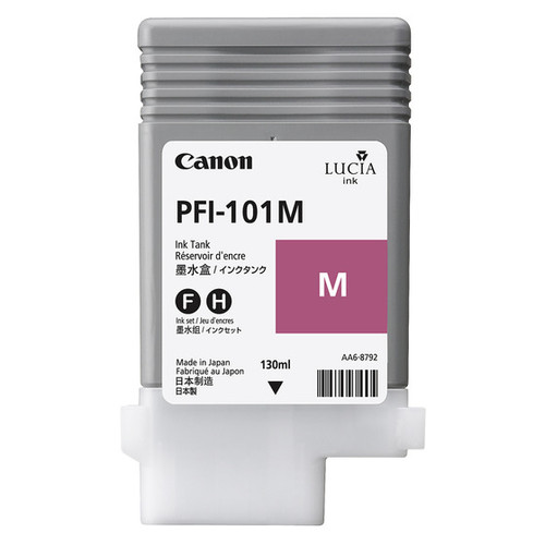 0885B001 | Canon PFI-101 | Original Canon Ink Cartridge - Magenta