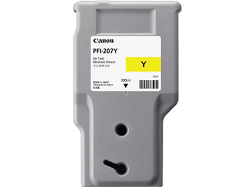 8792B001AA | Canon PFI-207 | Original Canon Ink Cartridge - Yellow