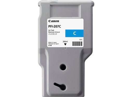 8790B001AA   Canon PFI-207   Original Canon Ink Cartridge - Cyan