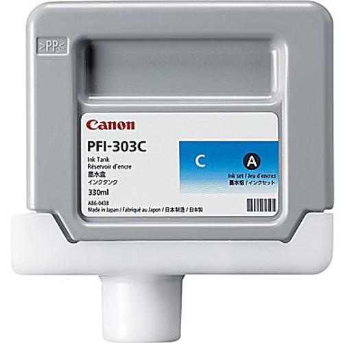Original Canon 2959B001 PFI-303C ink cartridge Cyan 330 ml
