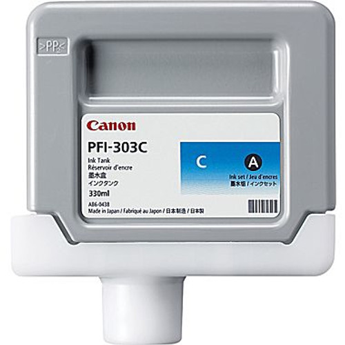 2959B001 | Canon PFI-303 | Original Canon Ink Cartridge - Cyan