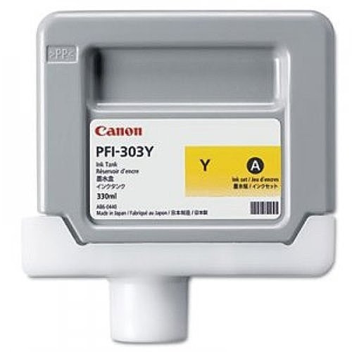 2961B001 | Canon PFI-303 | Original Canon Ink Cartridge - Yellow