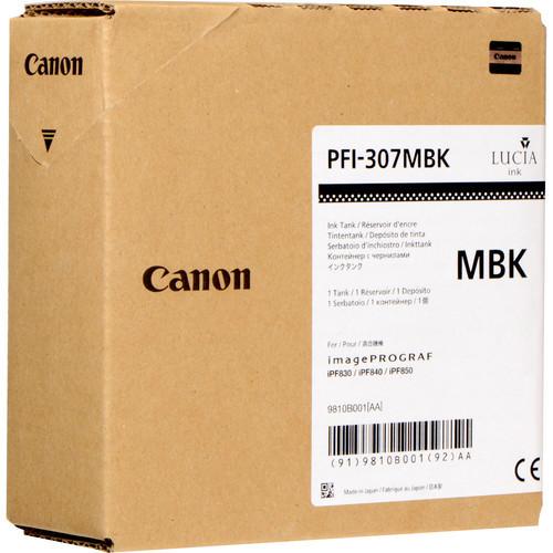 9810B001 | Canon PFI-307 | Original Canon Ink Cartridge – Matte Black