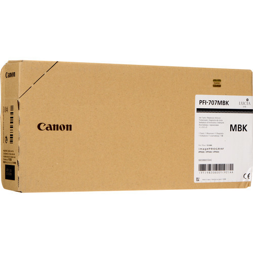 9820B001 | Canon PGI-707 | Original Canon Ink Cartridge – Matte Black