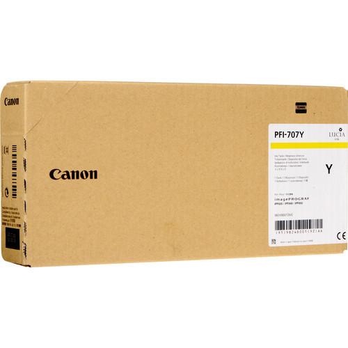 9824B001 | Canon PFI-707 | Original Canon Ink Cartridge – Yellow