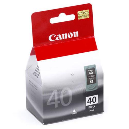 Original Canon 0615B002 PG-40 Black Cartridge