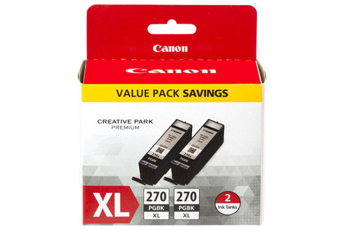 Original Canon 0319C005 PGI-270XL ink cartridge Pigment black