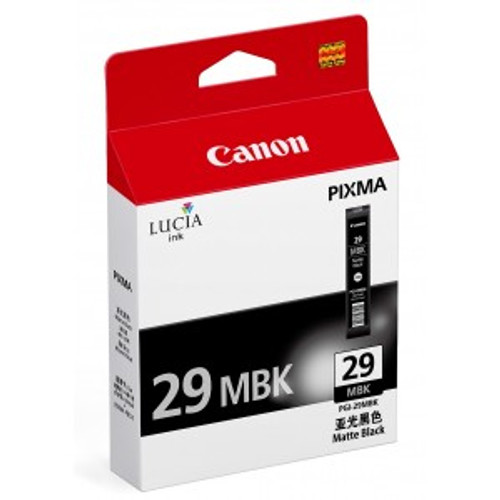 4868B002 | Canon PGI-29 | Original Canon Ink Cartridge - Matte Black