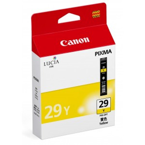 4875B002 | Canon PG-29 | Original Canon Ink Cartridge - Yellow