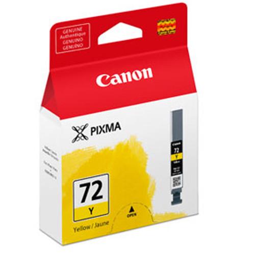 6406B002 | Canon PGI-72 | Original Canon Ink Cartridge - Yellow