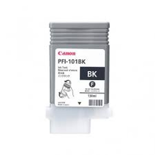 Original Canon 0883B001 imagePROGRAF IPF5000 PFI-101 SD Black Ink