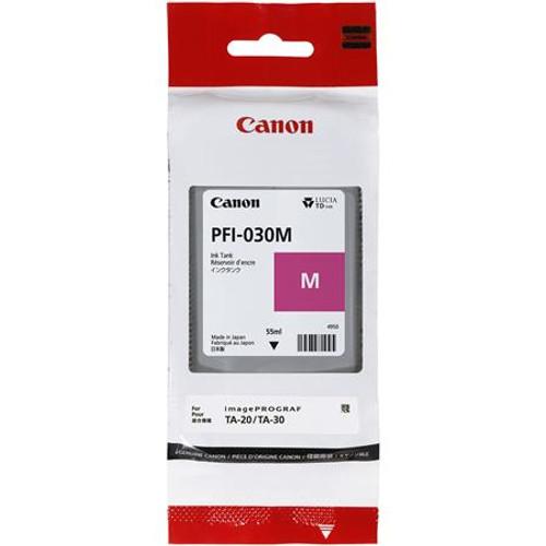 3491C001   Canon PFI-030   Original Canon Ink Cartridge - Magenta