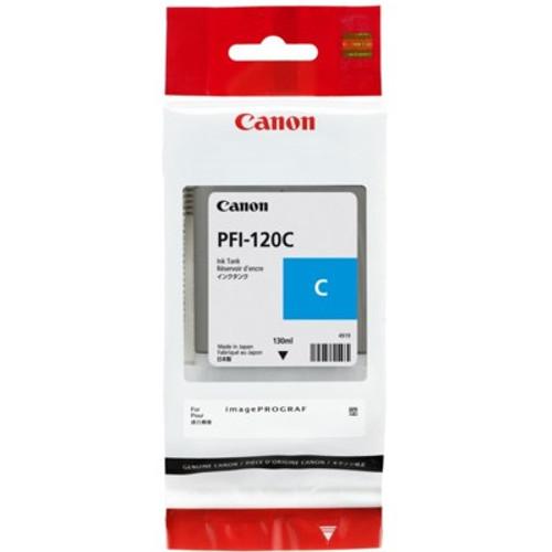 2886C001   Canon PFI-120   Original Canon Ink Cartridge - Cyan