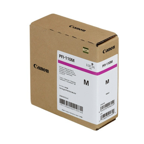 2366C001   Canon PFI-110   Original Canon Ink Cartridge - Magenta