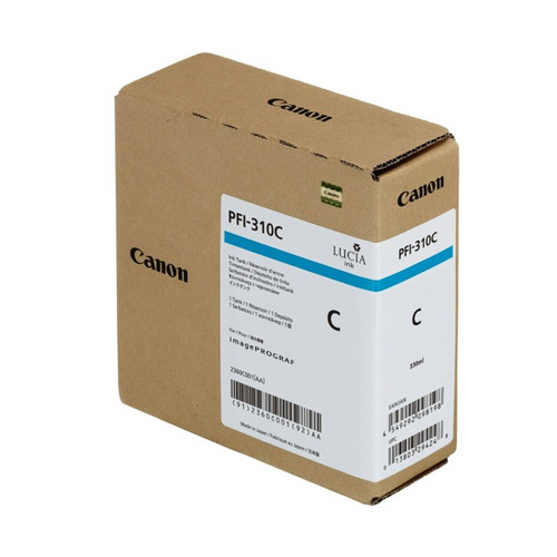 2360C001 | Canon PFI-310 | Original Canon Ink Cartridge - Cyan