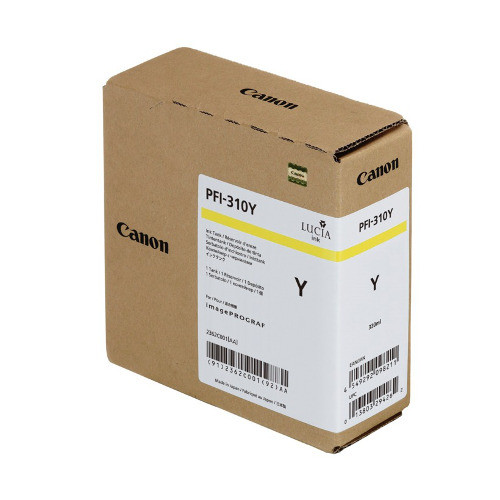 Original Canon 2362C001 imagePROGRAF TX3000 PFI-310 Hi Yellow Ink