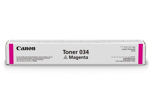9452B001 | Canon 034 | Original Canon Toner Cartridge – Magenta