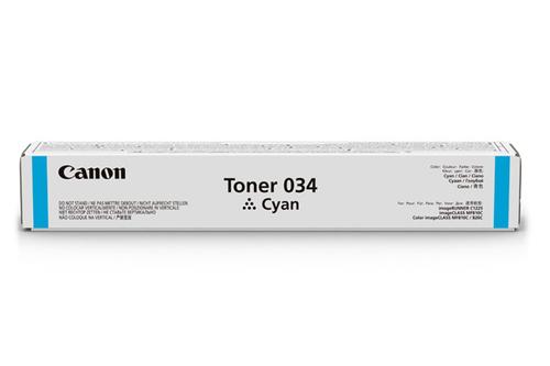 9453B001 | Canon 034 | Original Canon Toner Cartridge – Cyan