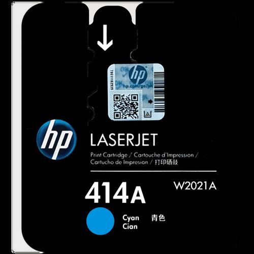 Original HP 414A W2021A Cyan LaserJet Toner Cartridge