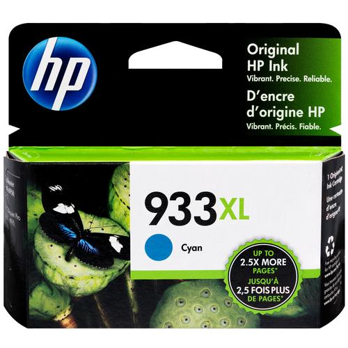 CN054AN   HP 933XL   Original HP High-Yield Ink Cartridge - Cyan