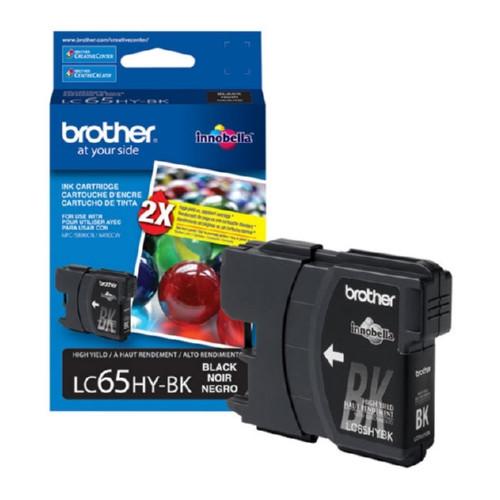 Original Brother LC65HYBK LC-65HYBK OEM inkjet cartridge for MFC5890CN, MFC6490CW.