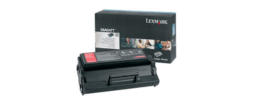 08A0477   Original Lexmark Toner Cartridge - Black
