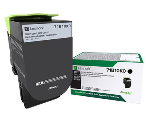 71B10K0 | Original Lexmark Toner Cartridge – Black