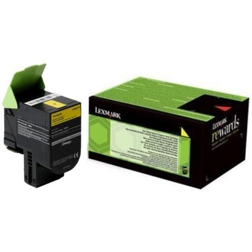 24B6010   Original Lexmark Genuine OEM Toner Cartridge - Yellow