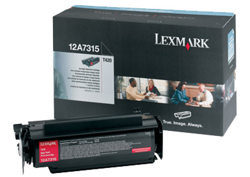 12A7315   Original Lexmark High-Yield Toner Cartridge - Black