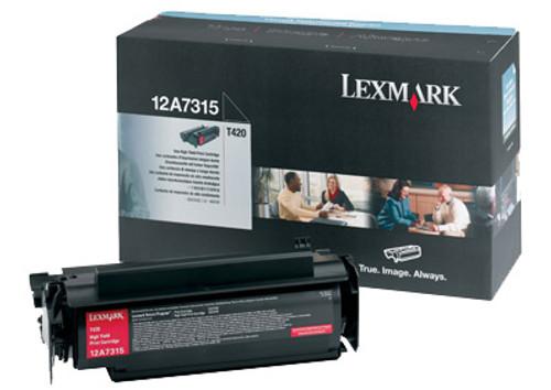 12A7315   Original Lexmark Toner Cartridge - Black