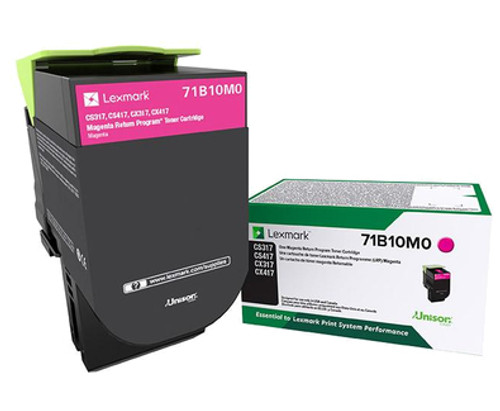 71B10M0 | Original Lexmark Toner Cartridge – Magenta