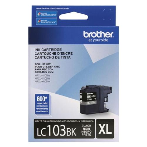 Original Brother LC103BK OEM ink for MFCJ4410, MFCJ4610DW.