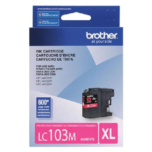 Original Brother LC103M OEM ink for MFCJ4410, MFCJ4610DW.